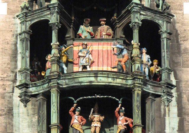 Glockenspiel Rathaus München