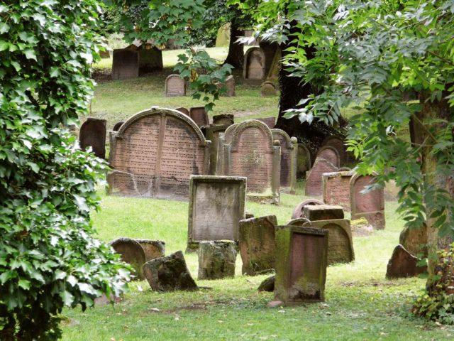 Jüdischer Friedhof Worms Heiliger Sand