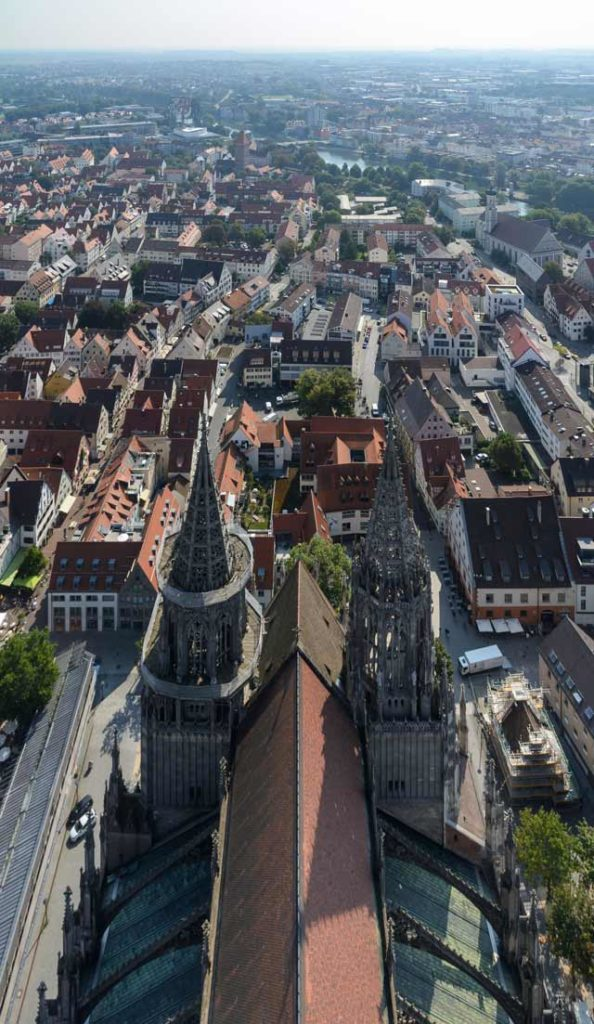 Münster Ulm Ausblick
