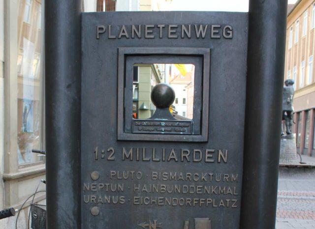 Planetenweg Göttingen