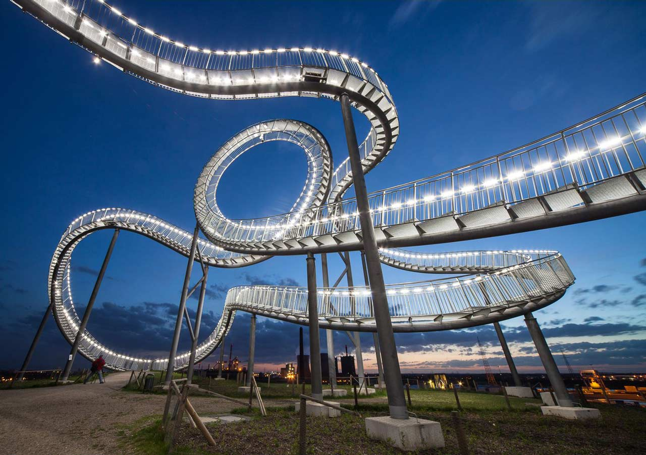 Tiger and Turtle Achterbahn Duisburg