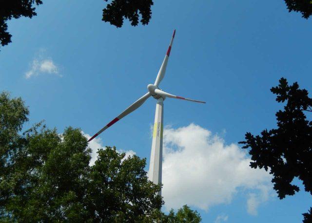 Timber Tower - Windkraftanlage Hannover-Marienwerder