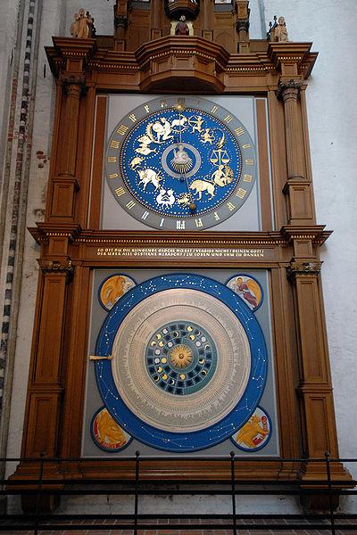 Astronomische Uhr Lübeck