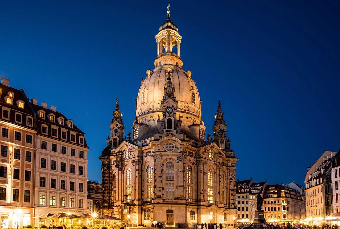 Die Frauenkirche in Dresden | Deutschland mal anders