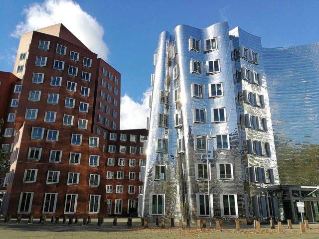 Ghery Bauten Düsseldorf