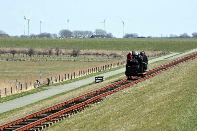 Halligbahn Dagebüll-Oland-Langeneß