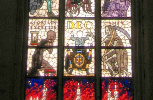 Lübecker Totentanzfenster