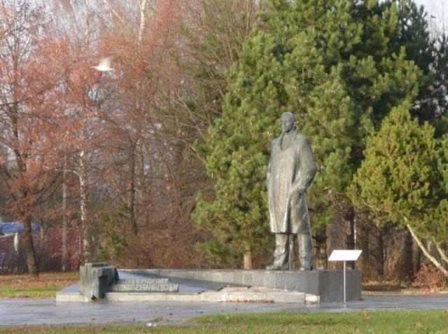 Lenin Denkmal in Schwerin