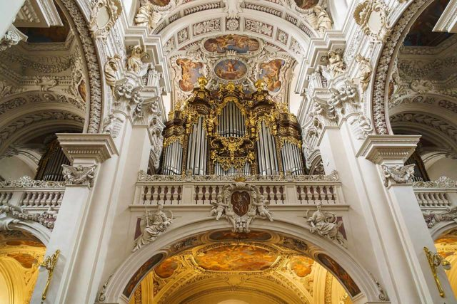 Orgel Dom St. Stephan Passau