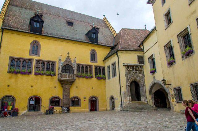 Rathaus Regensburg Folterkammer