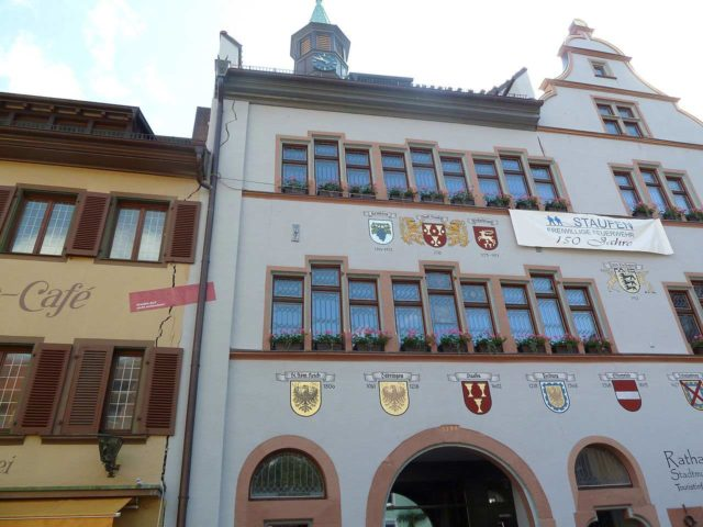 Staufen im Breisgau die Stadt mit den Rissen