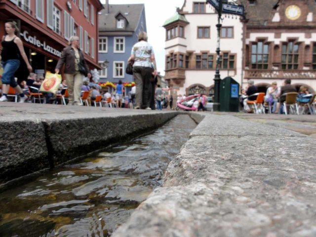 Bächle Freiburg im Breisgau