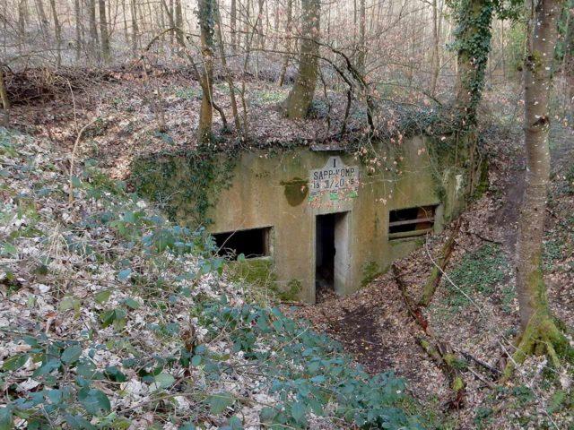 Bunker Waldstetten Staatswald
