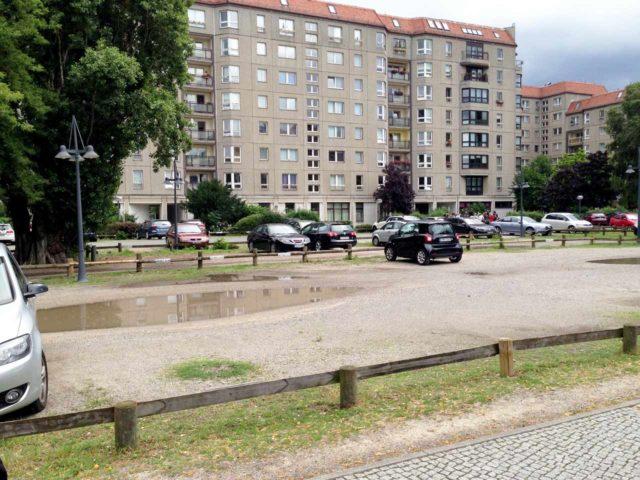 Führerbunker Parkplatz Berlin