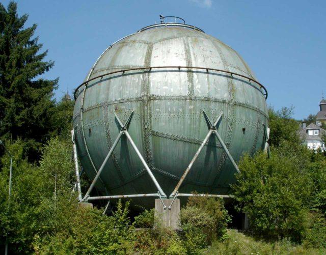 Gasometer Ziegenberg Kugelgasbehälter Siegen
