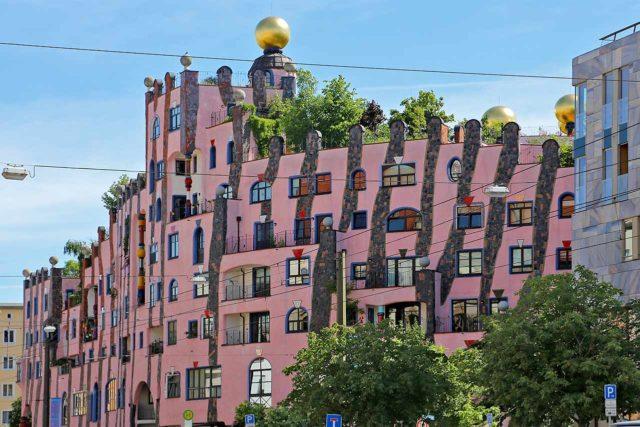 Hundertwasserhaus Grüne Zitadelle Magdeburg