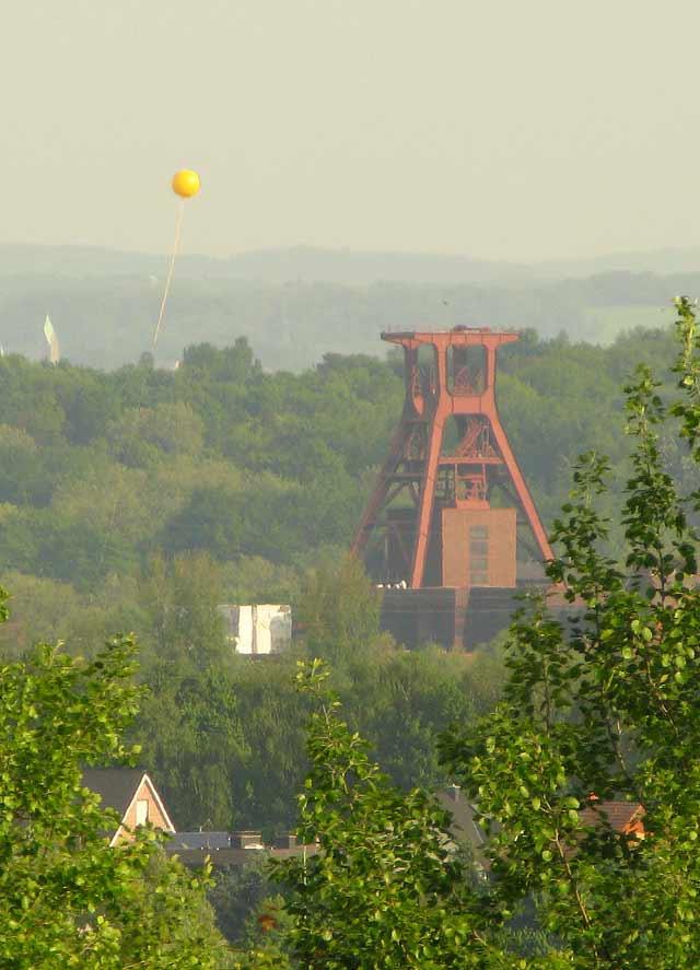 Schurenbachhalde Walzstahlplatte Bramme für das Ruhrgebiet
