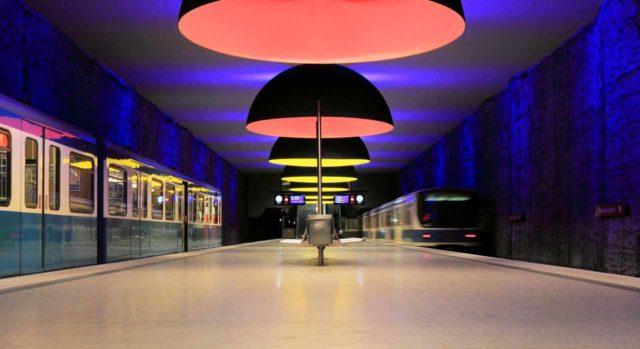 Westfriedhof Bahnhof München U-Bahn