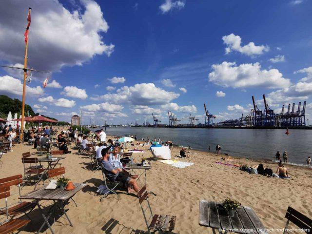 Elbstrand Hamburg Strandperle