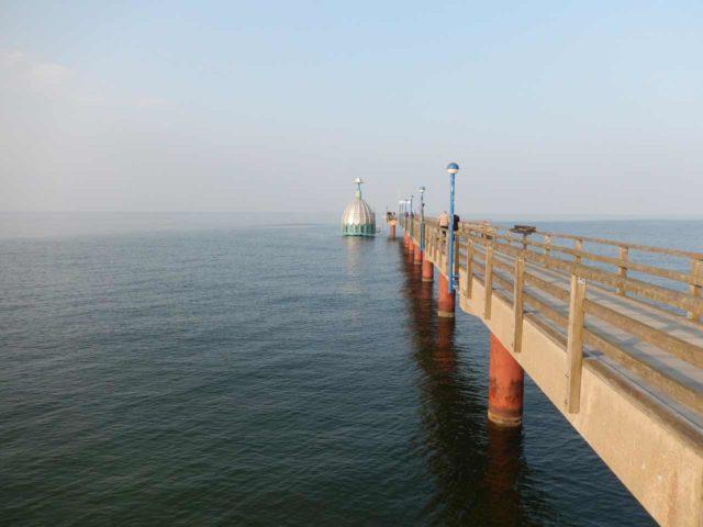 Tauchgondel Zingst mit Seebrücke