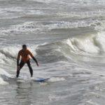 Surfen Nordsee