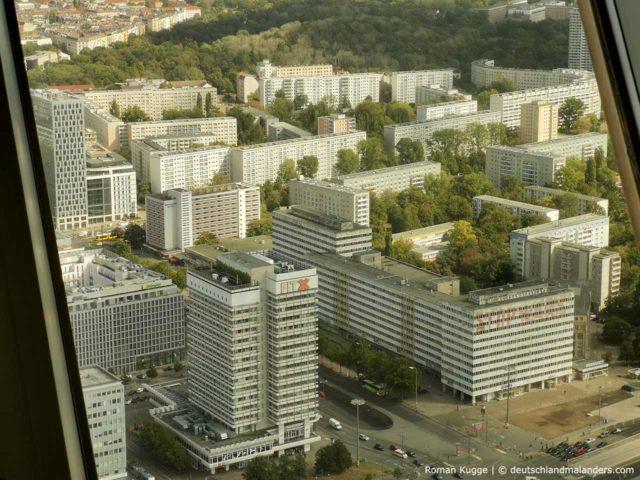 Ausblick Aussicht Fernsehturm Berlin