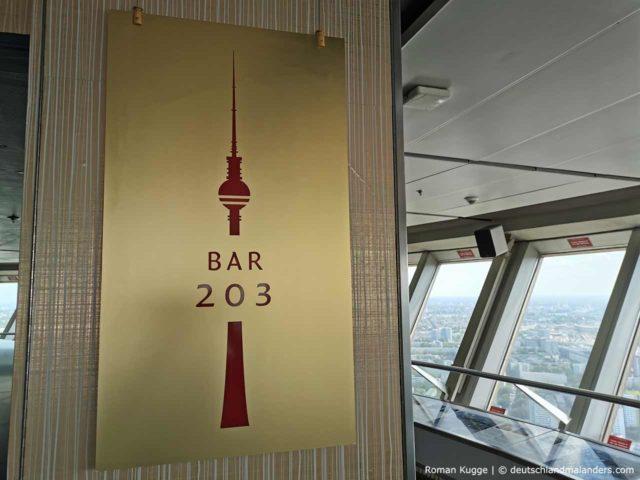 Bar 203 Fernsehturm Berlin