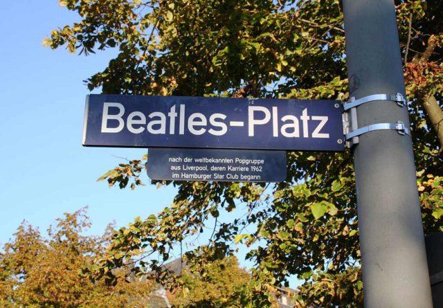 Beatles-Platz Hamburg