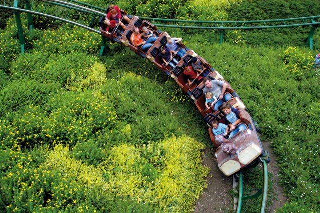 Freizeitpark Lochmühle Achterbahn