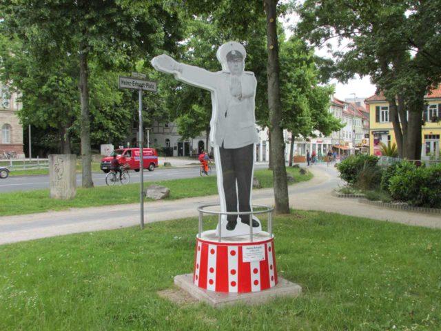 Heinz-Erhardt-Denkmal Stele Göttingen