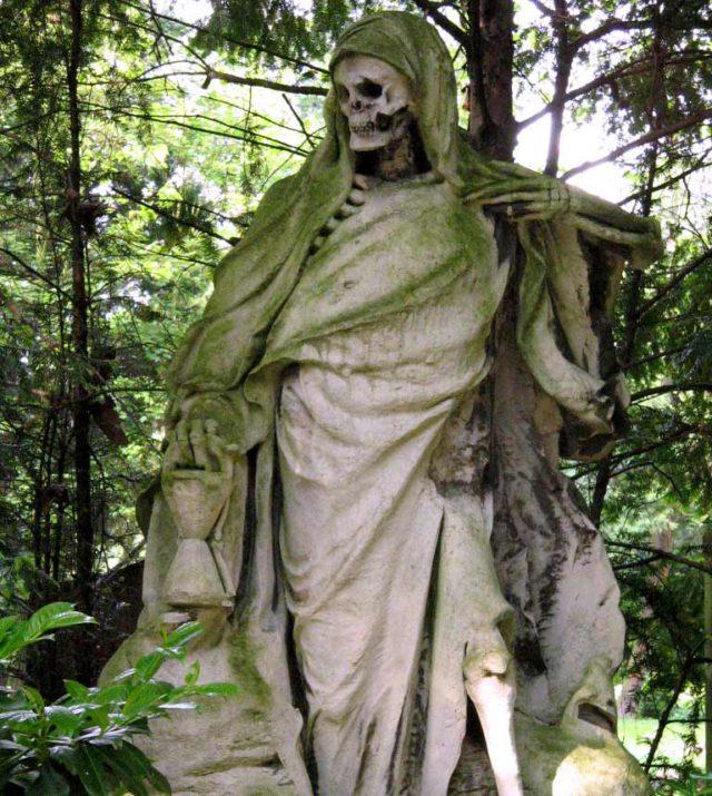 Sensemann Melatenfriedhof Köln