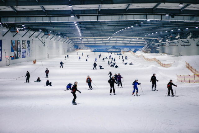 Snowdome Bispingen Abentuer Resort Berg und Tal