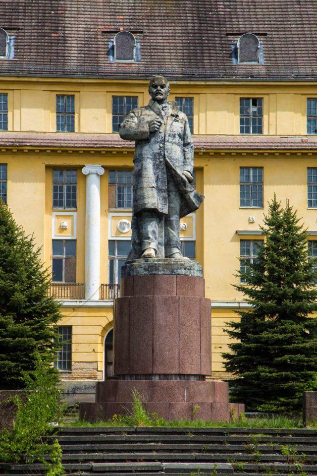 Verbotene Stadt Lenin-Statue
