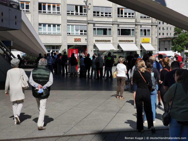 Wartezeiten Warteschlange Fernsehturm Berlin