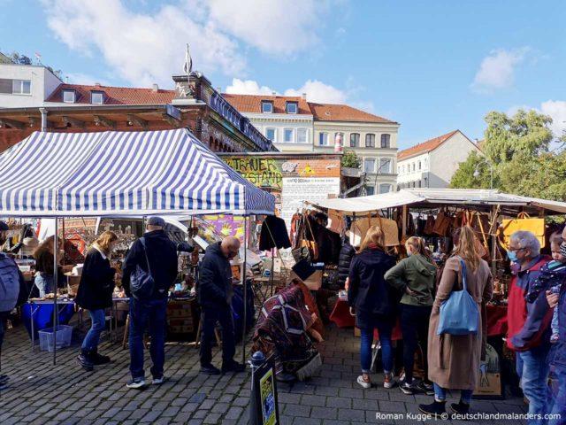 Flohschanze Flohmarkt Schanzenviertel Hamburg