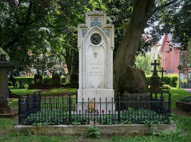Grab Carl-Friedrich Gauß