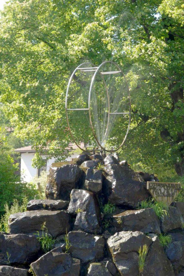 Rhönraddenkmal
