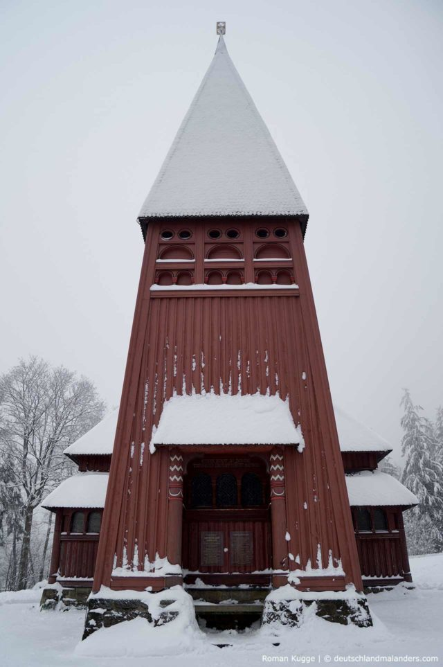 Stabkirche Hahnenklee Glockenturm Carillon