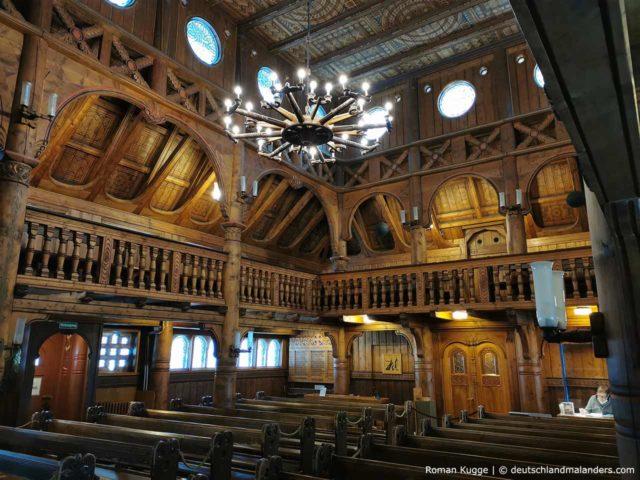 Stabkirche Hahnenklee Innen