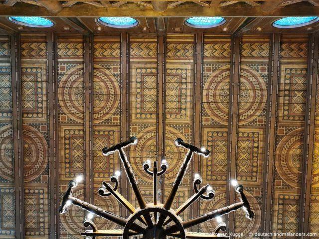 Stabkirche Hahnenklee Innen Decke