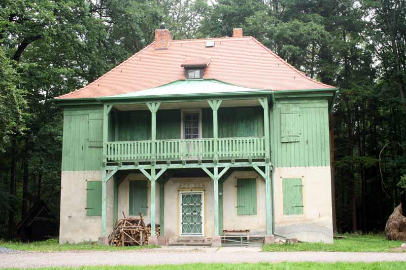 Jagdanlage Rieseneck Grünes Haus