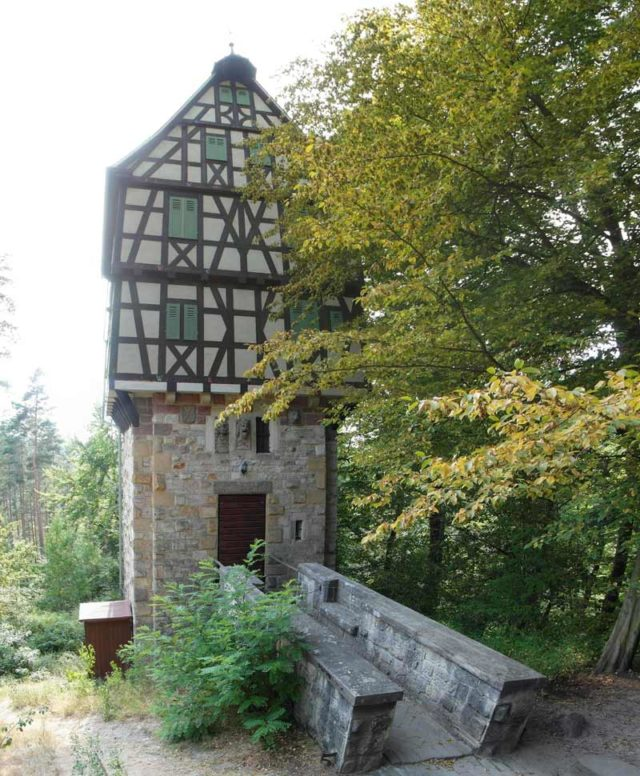 Jagdanlage Rieseneck Herzogsstuhl